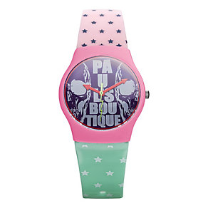 Paul's Boutique Ladies' Printed Pattern Strap Watch - Product number 9650814