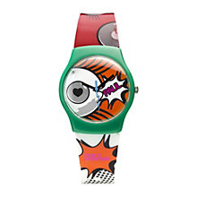 Paul's Boutique Ladies' Printed Pattern Strap Watch - Product number 9650830