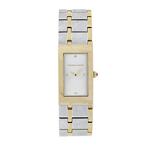 Christian Lacroix Ladies' Two Colour Rectangle Watch - Product number 9652779