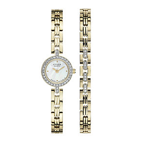 Citizen Ladies' Bracelet & Watch Set - Product number 9654909