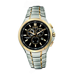 Citizen Eco Drive Men's Two Tone Watch - Product number 9654933