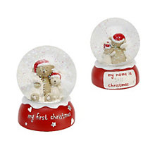 Button Corner My First Christmas Snow Globe - Product number 9657886