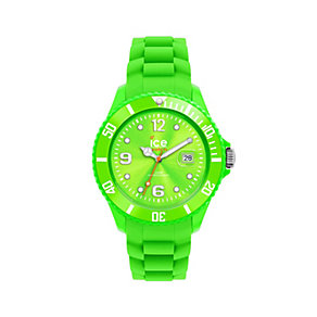 Ice-Watch Forever Green Men's Silicone Strap Watch - Product number 9659579