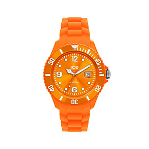Ice-Watch Forever Orange Men's Silicone Strap Watch - Product number 9659625