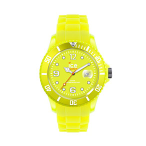 Ice-Watch Neon Yellow Men's Silicone Strap Watch - Product number 9659838
