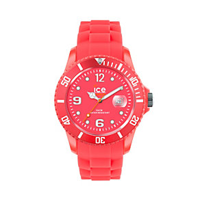 Ice-Watch Neon Red Men's Silicone Strap Watch - Product number 9659854