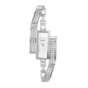 Seksy Ladies' Stone Set Bracelet Watch - Product number 9660194