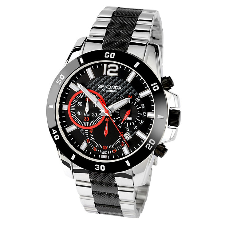 Sekonda Men's Endurance Chrono Bracelet Watch - Product number 9660380