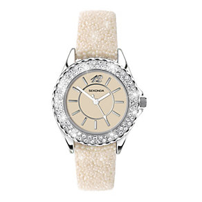 Sekonda Ladies' Stone Set Strap Watch - Product number 9660437