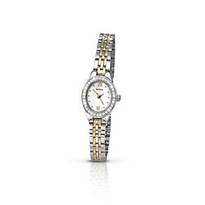 Sekonda Ladies' Two Tone Stone Set Bracelet Watch - Product number 9660496