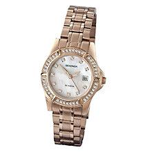Sekonda Ladies' Stone Set Mother Of Pearl Bracelet Watch - Product number 9660615