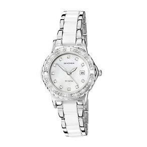 Sekonda Ladies' Moonlight Pearl White Bracelet Watch - Product number 9660623
