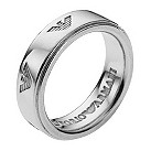 Emporio Armani ladies' sterling silver ring - size M1/2 - Product number 9662049