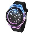 Limit Men's Strobe Black Rubber Strap Watch - Product number 9667903