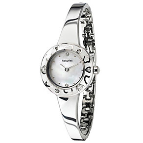 Accurist Ladies' Stainless Steel Bangle Watch - Product number 9668136