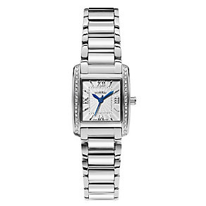 Roamer ladies' stainless steel stone set bracelet watch - Product number 9668349