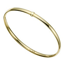 Together Bonded Silver & 9ct Gold Bangle - Product number 9684174