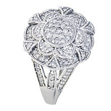 The One Hundred Diamond Cluster Ring - Product number 9684794