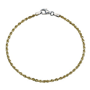 Together Bonded Silver & 9ct Gold 7.25