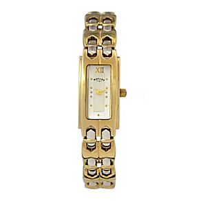 Rotary Ladies' Two Colour Gold Plated Bracelet Watch - Product number 9687963