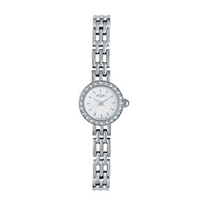 Rotary Ladies' Stone Set Stainless Steel Bracelet Watch - Product number 9688420