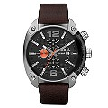 Diesel Men's Large Brown Strap Watch - Product number 9690042