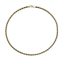 Together Bonded Silver & 9ct Yellow Gold Chain - Product number 9690549
