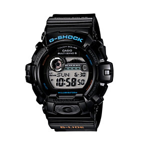 G-Shock Men's Radio Controlled Solar Powered Black Watch - Product number 9690581