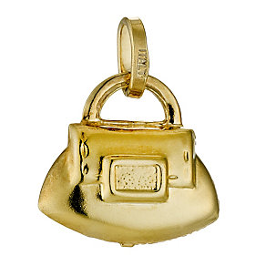 Together Bonded Silver & 9ct Gold Handbag Charm - Product number 9691154