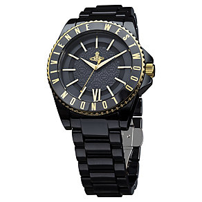Vivienne Westwood ladies' black ceramic bracelet watch - Product number 9694390