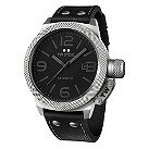 TW Steel men's automatic stainless steel black strap watch - Product number 9696865