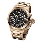 TW Steel ladies' black dial rose gold plated bracelet watch - Product number 9696970