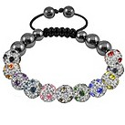 Tresor Paris Dammarie multi coloured crystal bracelet - Product number 9703845