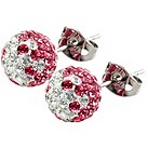 Tresor Paris Le Fresne crystal stud earrings - Product number 9704116