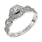 Neil Lane 14ct white gold 0.98 carat diamond cluster ring - Product number 9705678