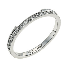 Neil Lane 14ct white gold 0.18 carat round diamond ring - Product number 9706062