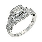 Neil Lane 14ct white gold 1.44 carat diamond cluster ring - Product number 9706712