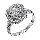 Neil Lane 14ct white gold 1.91 carat diamond cluster ring - Product number 9706852