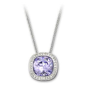 Swarovski Simplicity Provence Lavender pendant - Product number 9709029