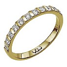 18ct gold third carat diamond bar eternity ring - Product number 9710019