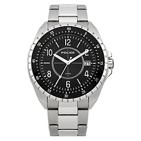 Police Men's Stainless Steel Black Dial Bracelet Watch - Product number 9716653