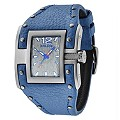 Police Men's Rectangle Blue Strap Watch - Product number 9716807