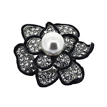 Stone Flower Pearl Brooch - Product number 9718249