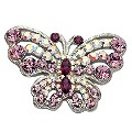 Purple Butterfly Brooch - Product number 9718257