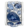 Chamilia Mosaic Blue Swarovski Element Bead - Product number 9723870