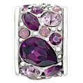 Chamilia Mosaic Purple Swarovski Element Bead - Product number 9723889