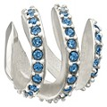 Chamilia Modern Glamour Blue Swarovski Element Bead - Product number 9723900