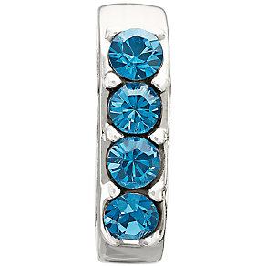 Chamilia Simple Elegance Blue Swarovski Bead - Product number 9724044