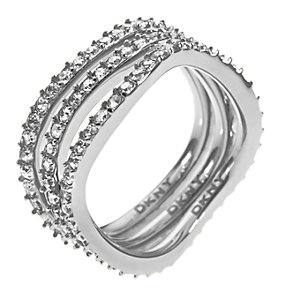 DKNY Crystal Triple Ring - Product number 9724249
