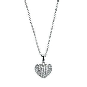 Radiance With Clear Swarovski Crystal Heart Pendant - Product number 9724834
